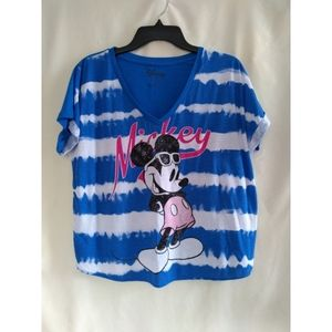 Tie dyed Mickey Mouse t-shirt